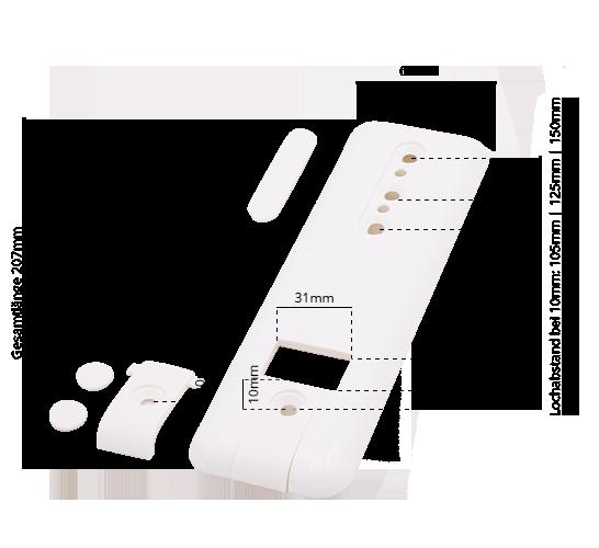 Abdeckplatte ohne Gurtausbau