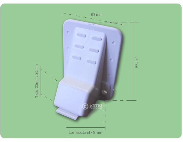 SOMFY-Schalter Maße