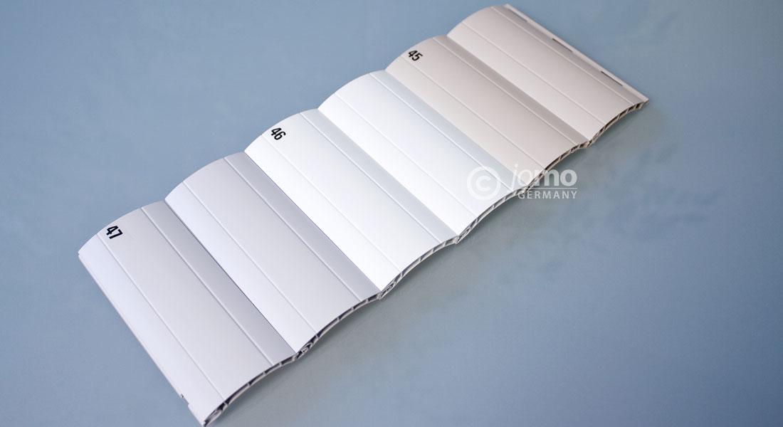 kunsttoff rolladenpanzer behang rolladen rollladen pvc ebay. Black Bedroom Furniture Sets. Home Design Ideas